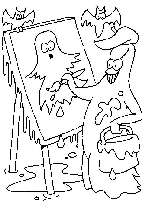 Helloween omalovánky
